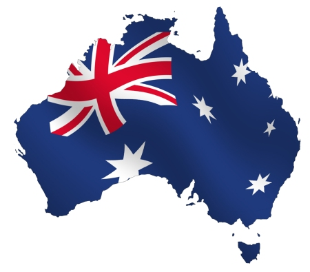 map_australia_flag