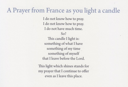 2015 Prayer from France