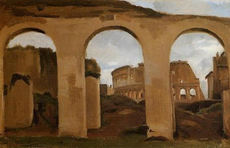 Jean-Baptiste-Camille_Corot_(1796-1875)_Corot_Rome_The_Coliseum_Seen_through_Arches_of_the_Basilica_of_Constantine_26885
