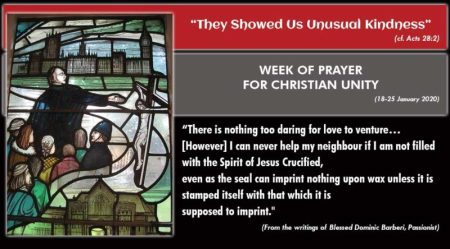 2020 Week of Prayer for Christian Unity
